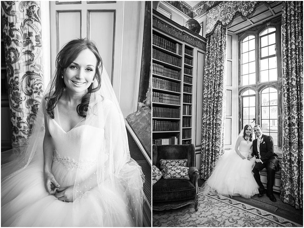 Beautiful bride at Leeds castle wedding