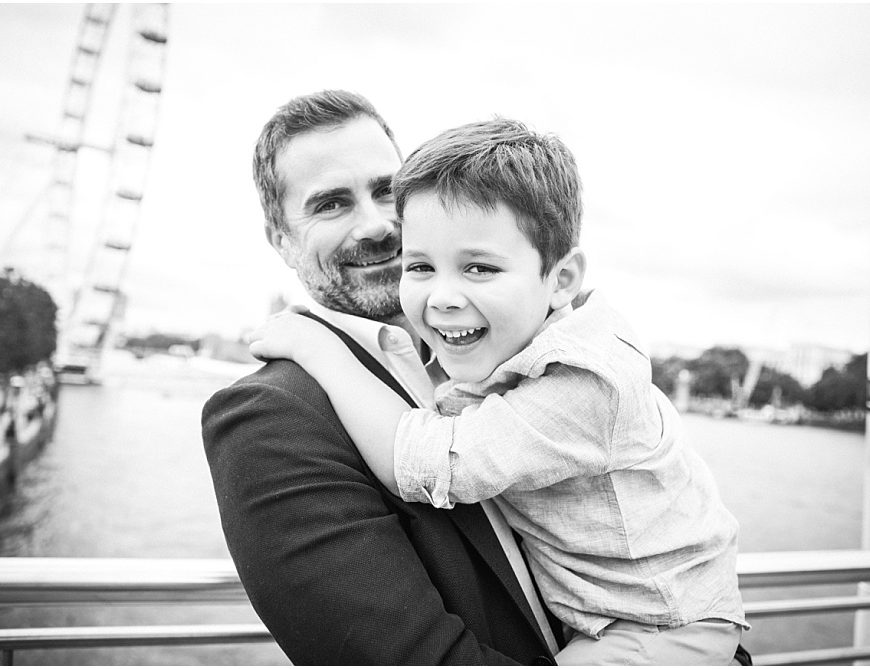 London Family Photographer – the gorgeous Melsoms on the Southbank