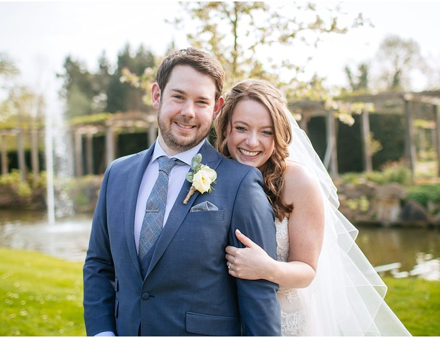 Great Fosters Wedding Photography – Ed & Ellie's spring wedding