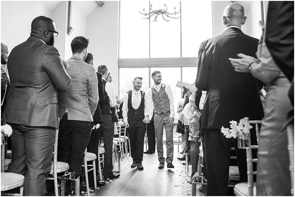 Millbridge court gay wedding