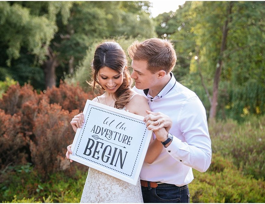 Richmond Park Engagement Photography – Emma and Patrick in the Isabella Plantation
