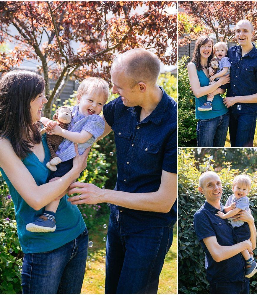Farnham Family Photographer – Hello Oliver!