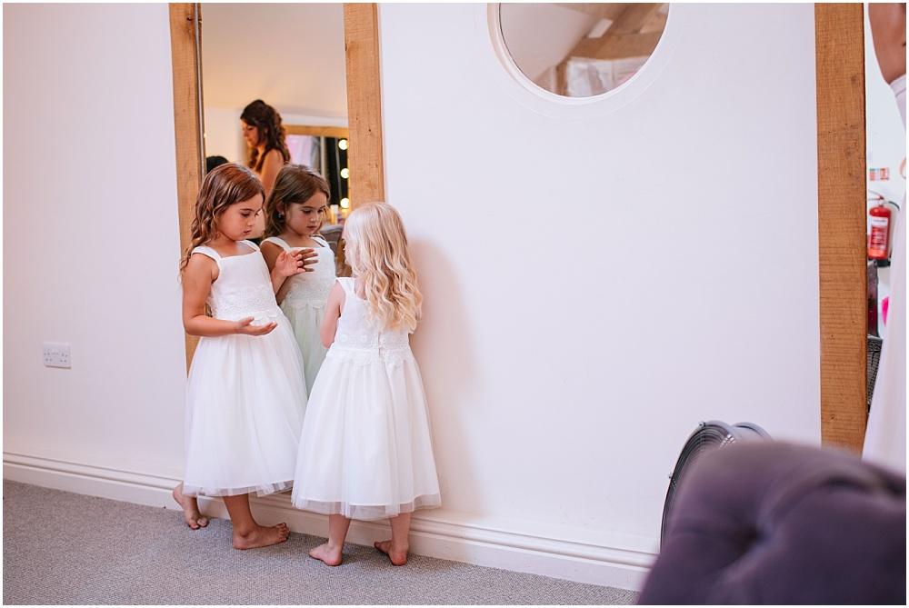 Cute bridesmaids