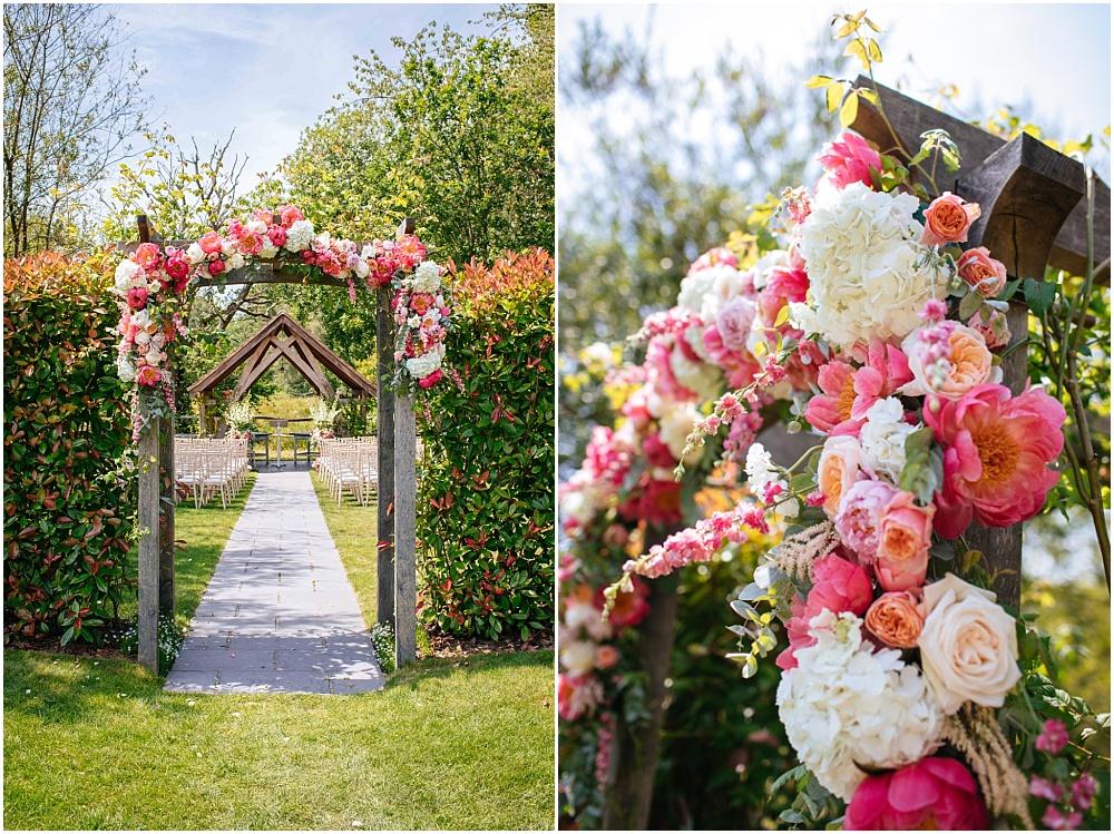 blush floral design photo