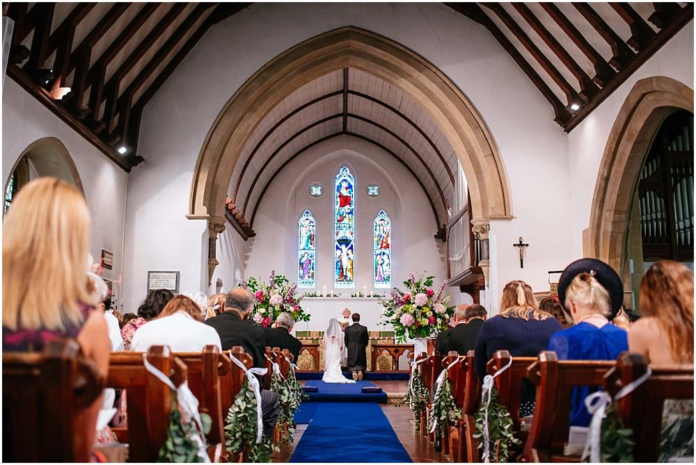 All saints church tilford wedding