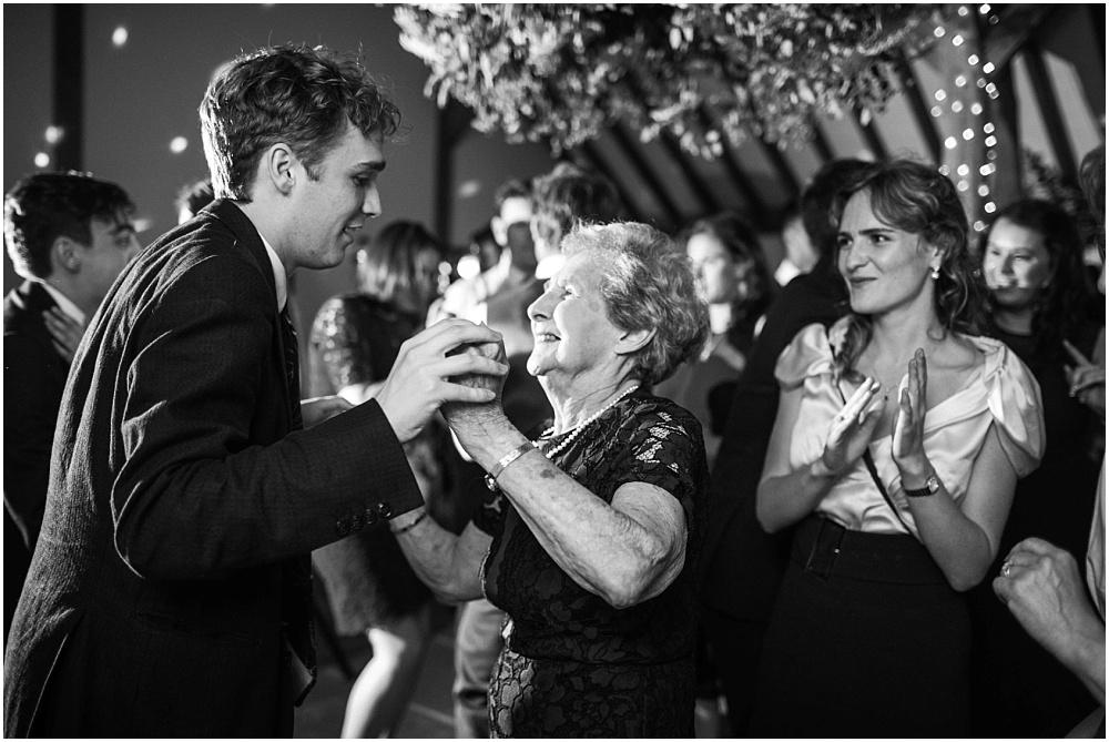 Dancing grandmother