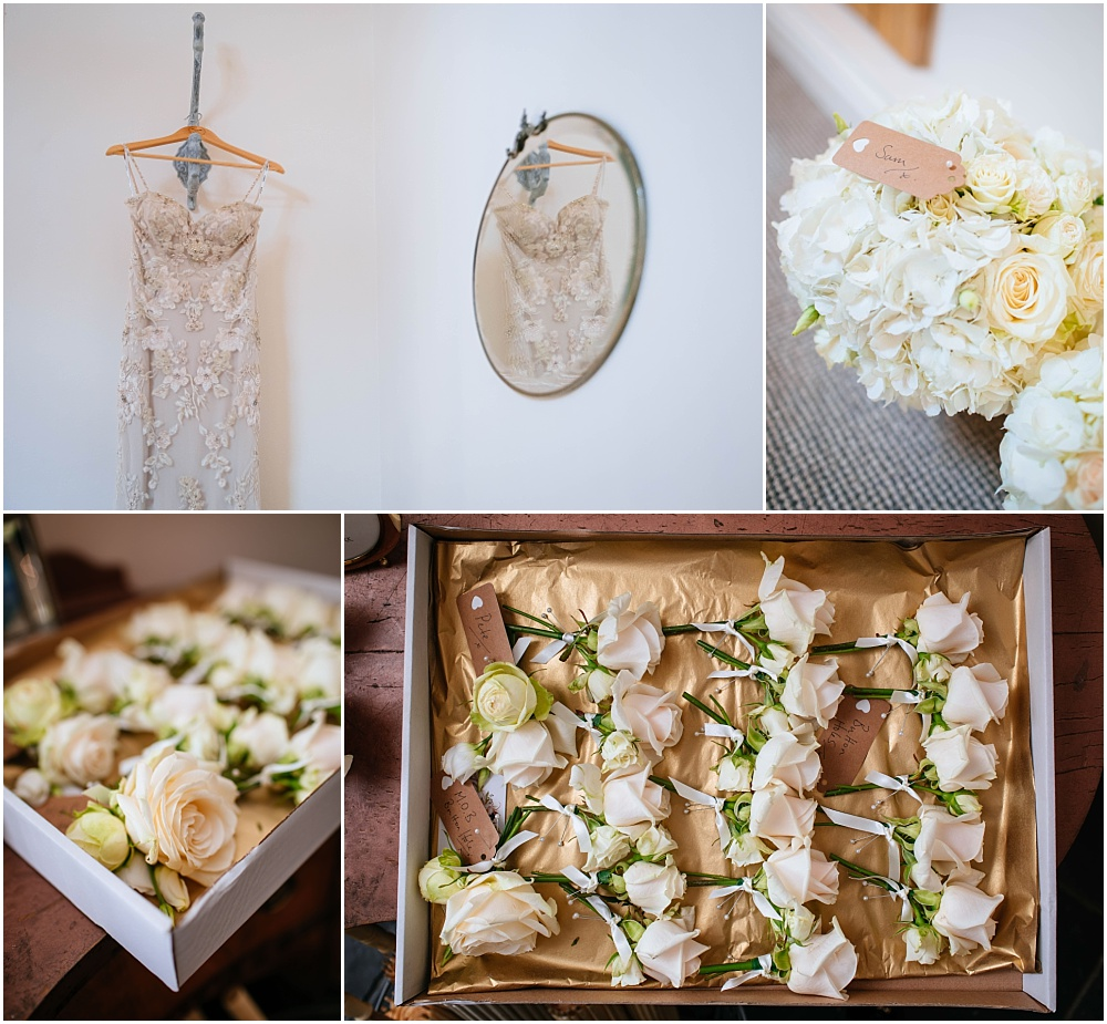 Wedding flowers and details