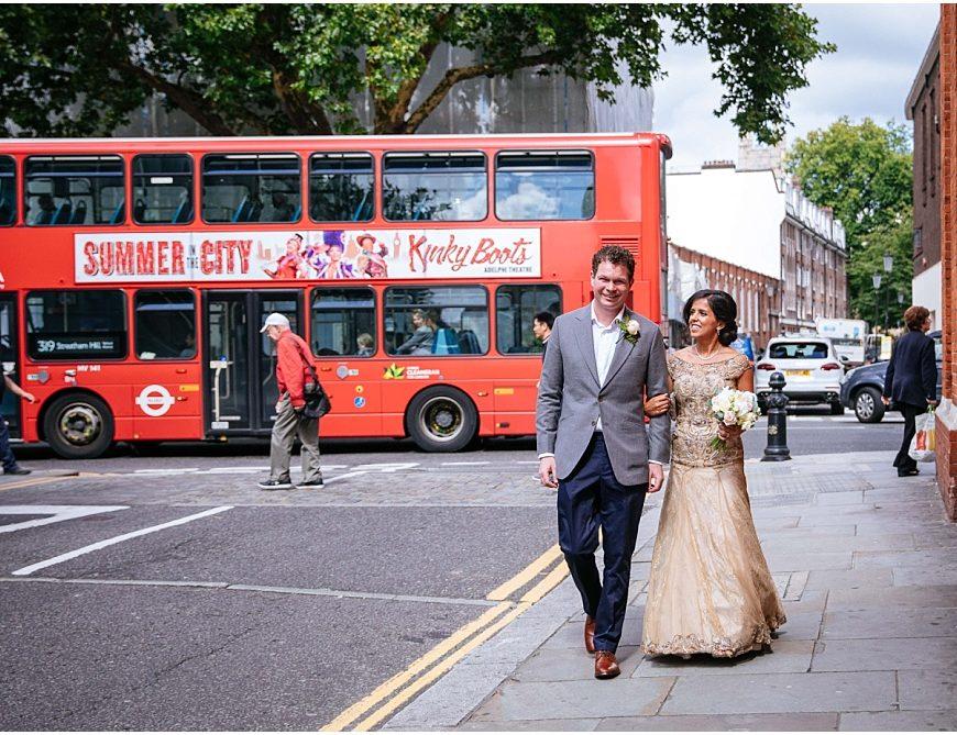 Old Chelsea Town Hall Wedding Photography – Preya & Al's intimate London wedding