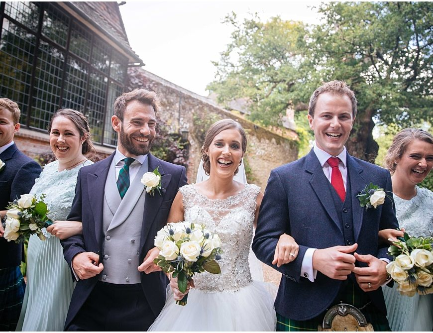 Ramster Hall Wedding Photography – Milly & Harry's Surrey Wedding