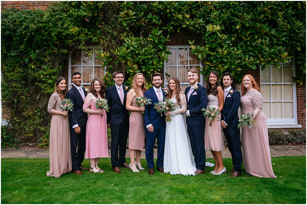 wedding party micklefield hall