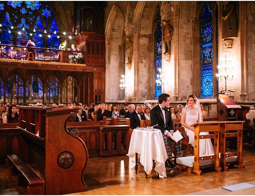 St Etheldreda's Church Wedding Photography – Kate & Andy's London wedding