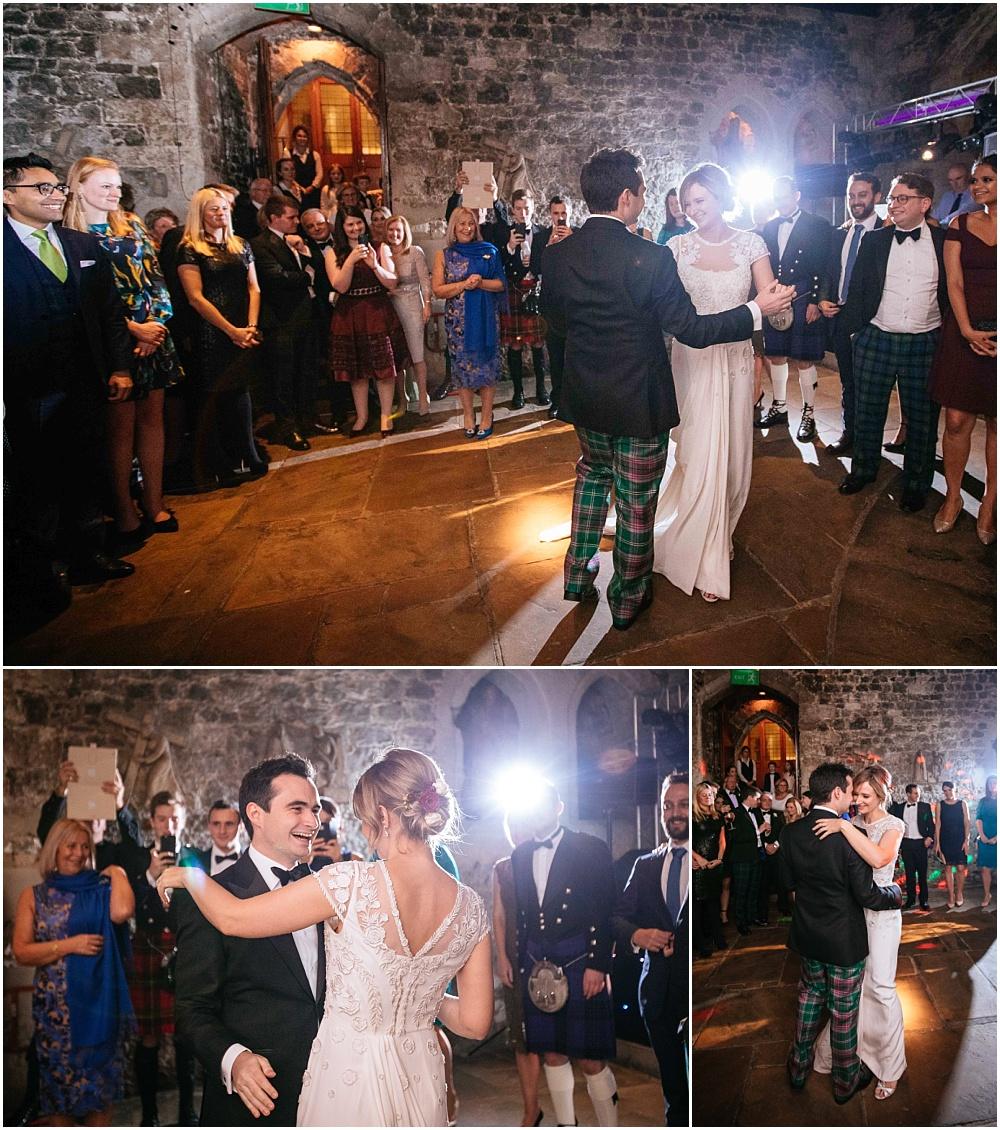 First dance at St Etheldredas crypt