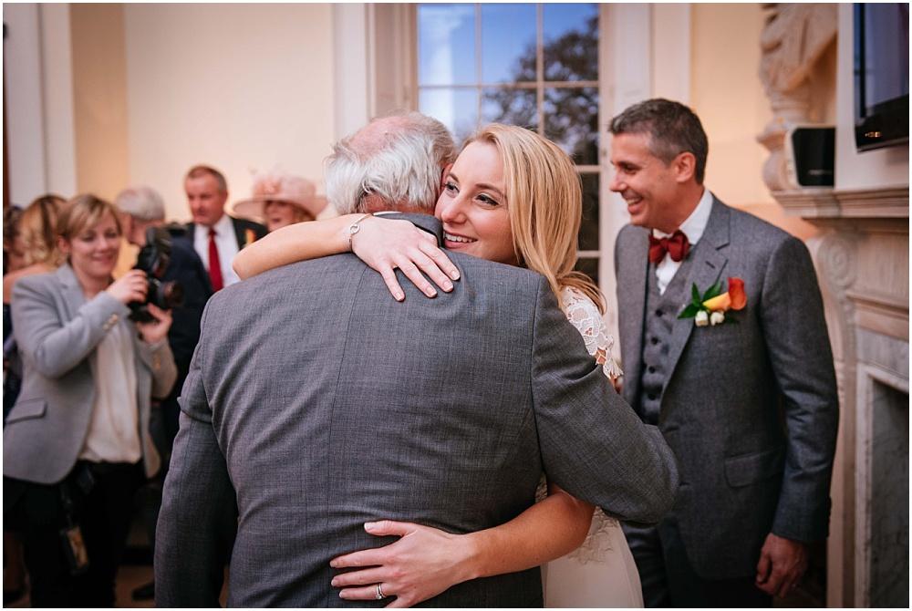hugging guest