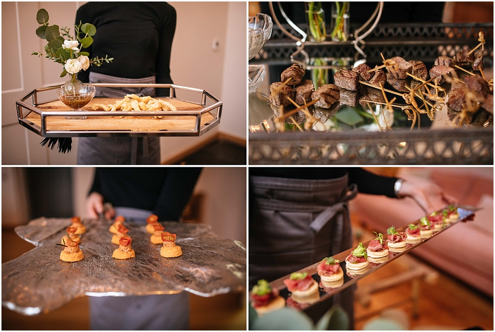 Delicious kalm kitchen canapes