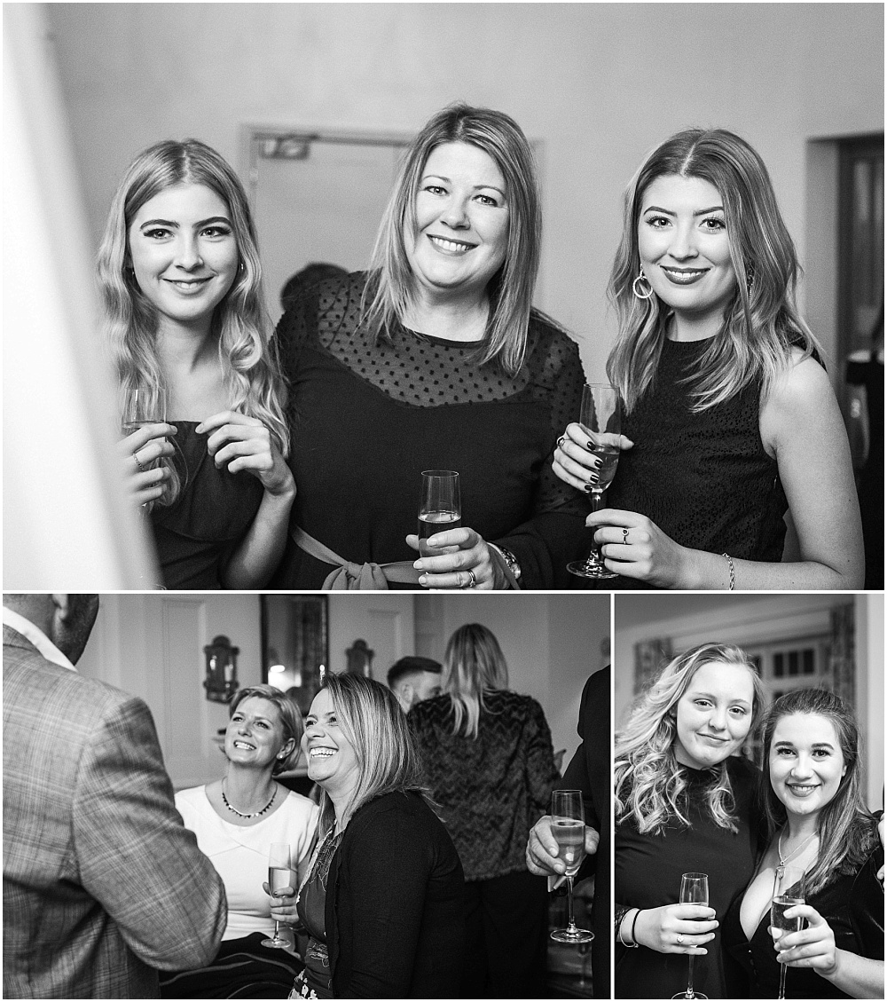 black and white guest photographs
