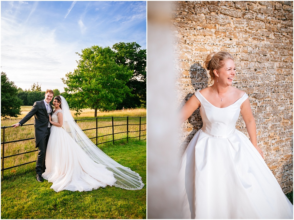 Loseley park wedding photographer and susanne neville dress