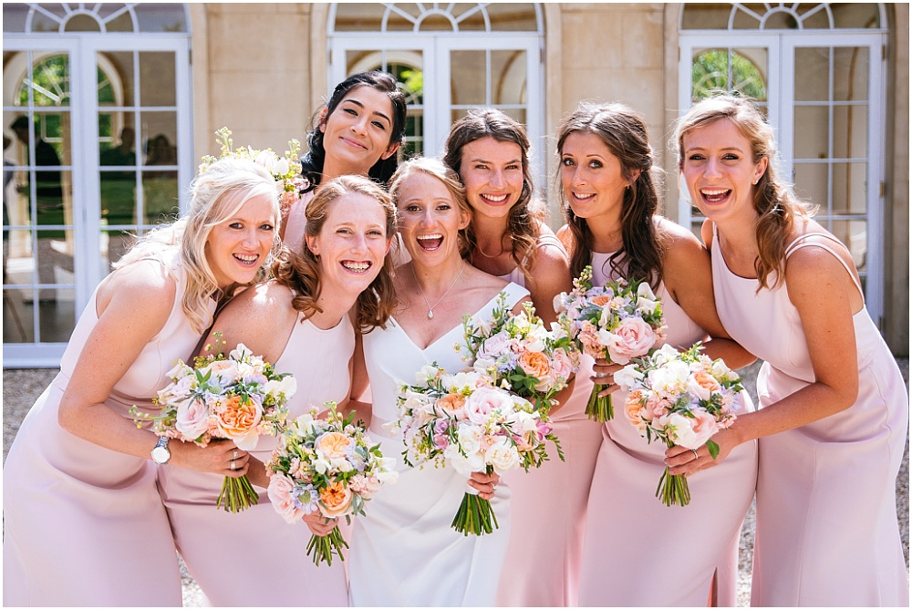 Beautiful bridesmaids at Northbrook Park