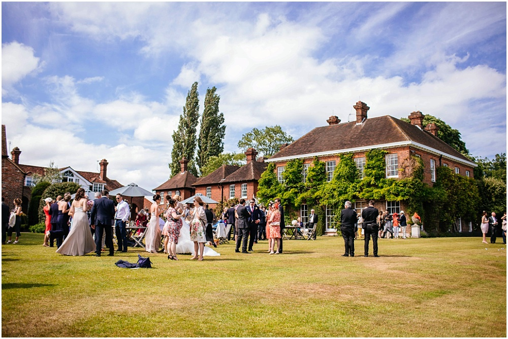 Micklefield hall sunny wedding