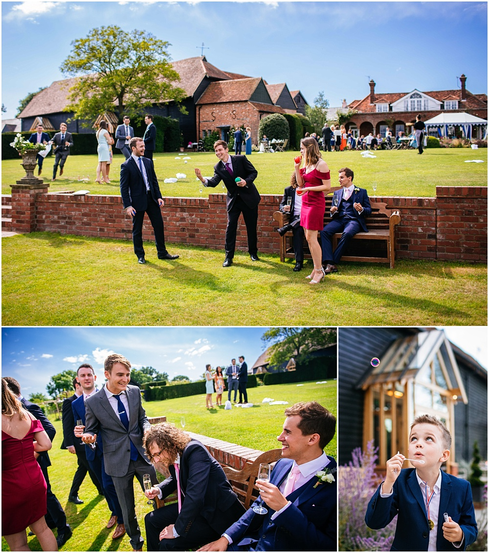 Wedding games at micklefield hall