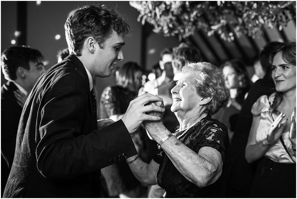 Dancing with granny