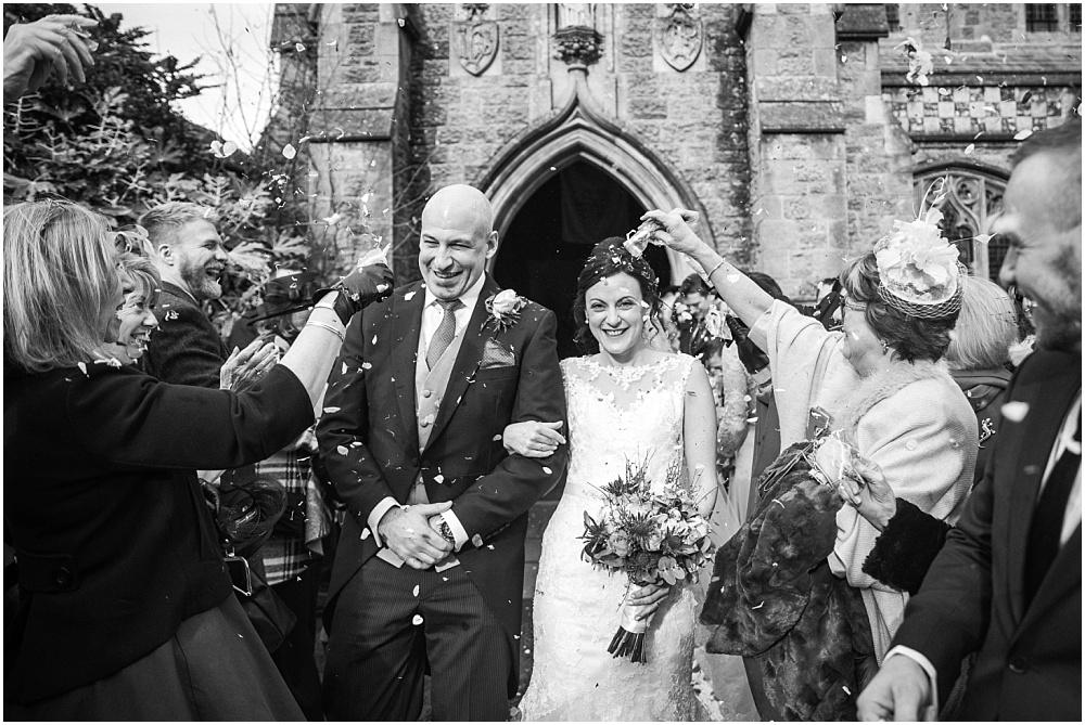 Haslemere Wedding Photographer – Jen & Steve's Lythe Hill Hotel winter wedding
