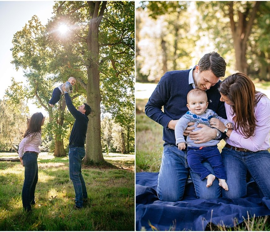 Windsor Park Family Photographer – William and family