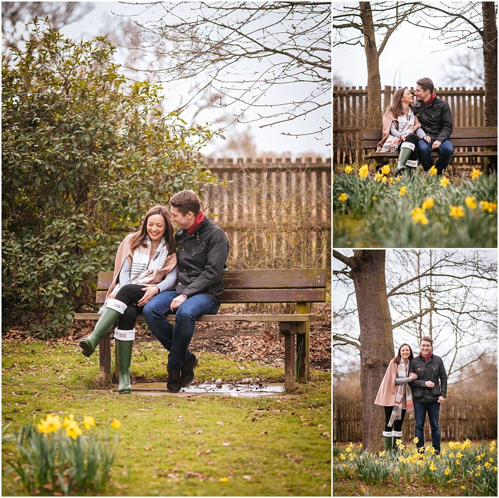 Bushy park engagement photography