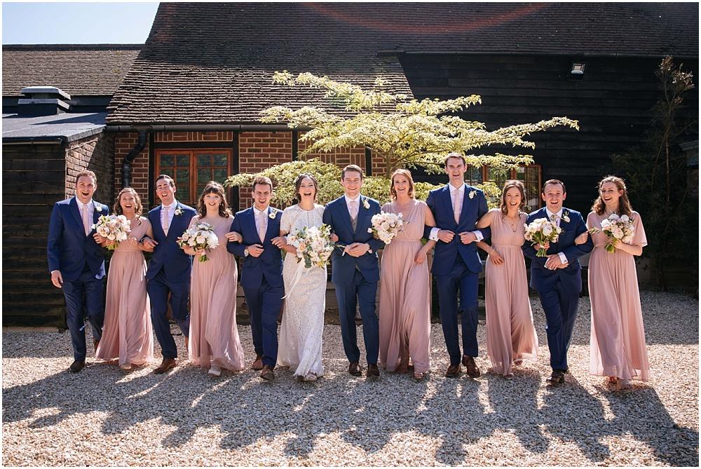 Fun wedding party photographsy