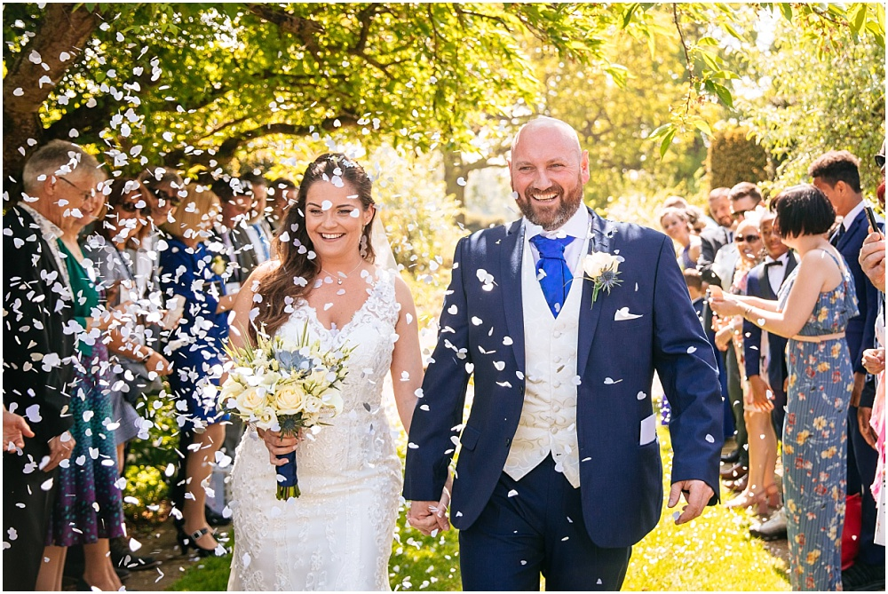 Confetti at micklefield hall