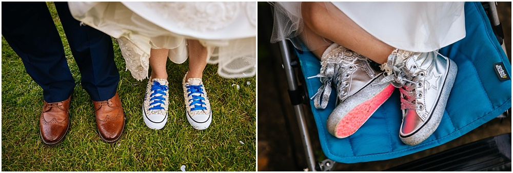 customised wedding converses