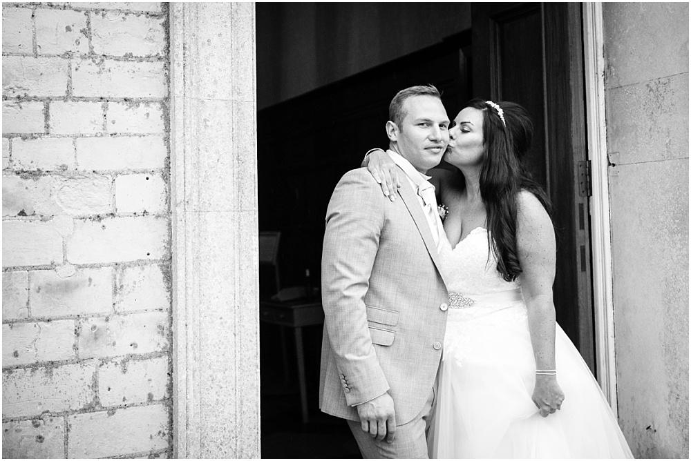 Rainy day froyle park wedding photography