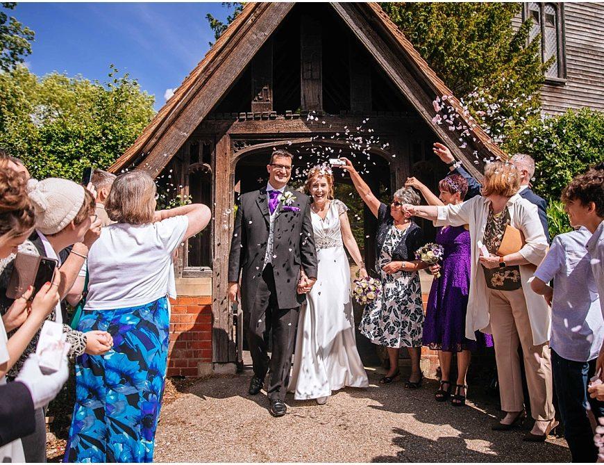Surrey Wedding Photographer – Alison & Mark's back garden wedding