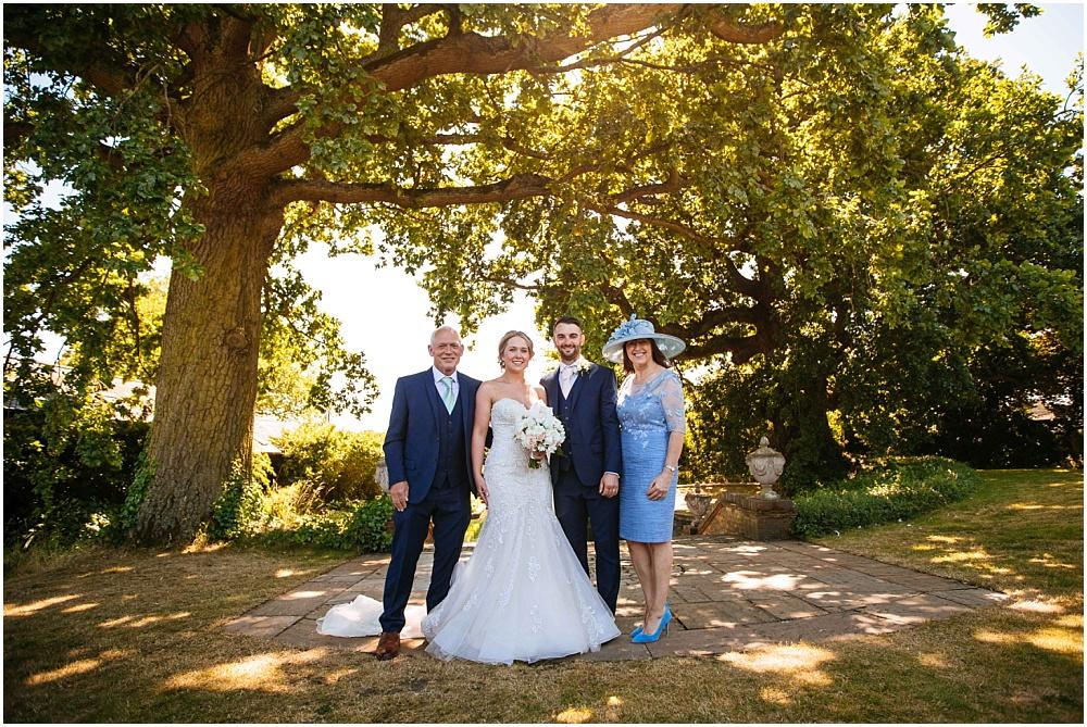 Micklefield hall wedding group photos