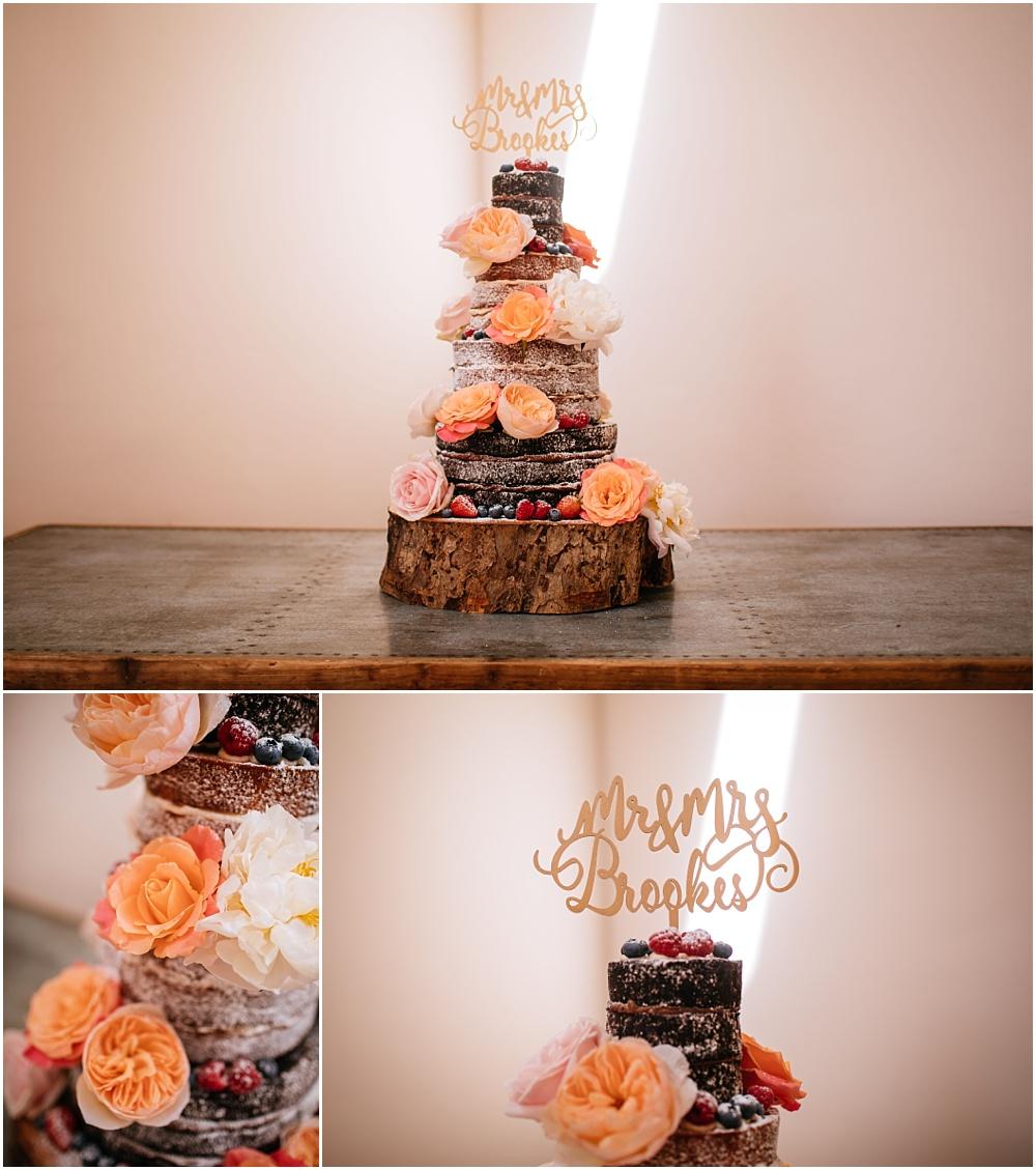 Spongeworks naked cake
