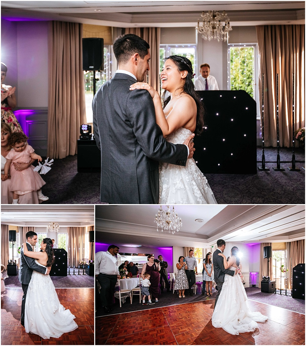 First dance at woodlands hotel