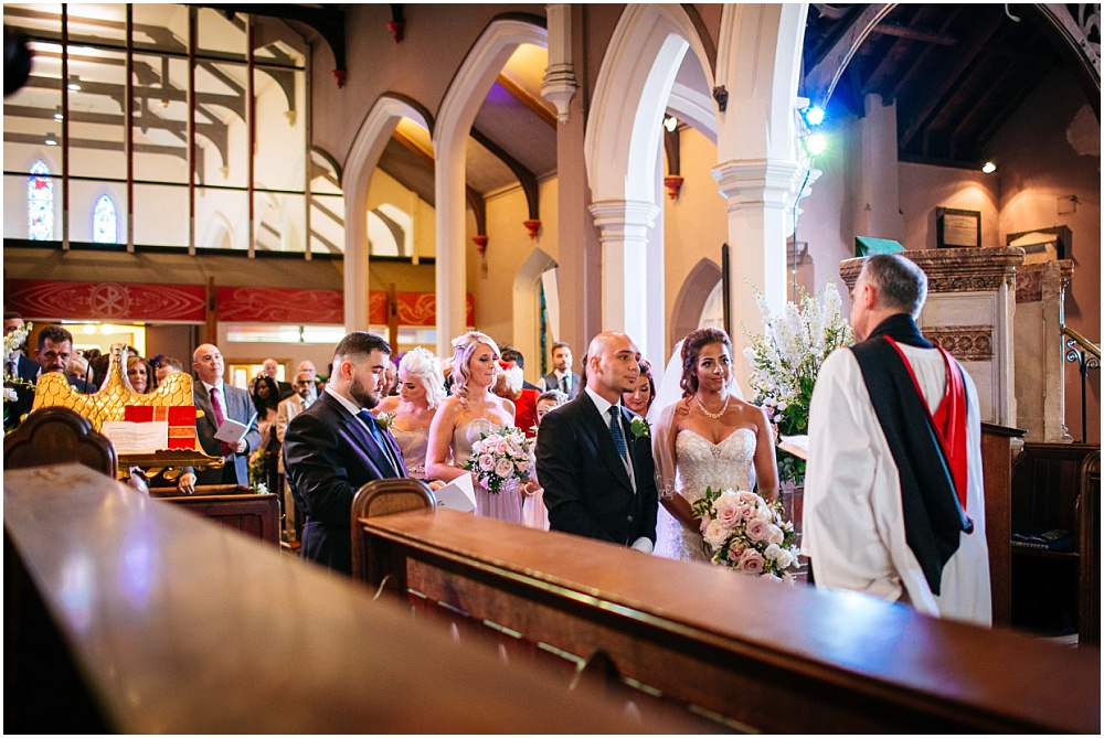 london church wedding