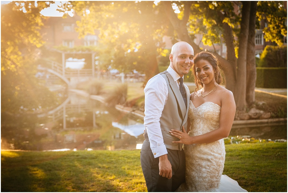 Great Fosters Wedding Photography – Natalie & Roni's sunny Surrey Wedding