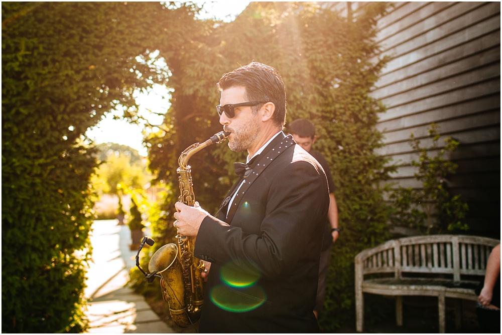 cool saxophone dude