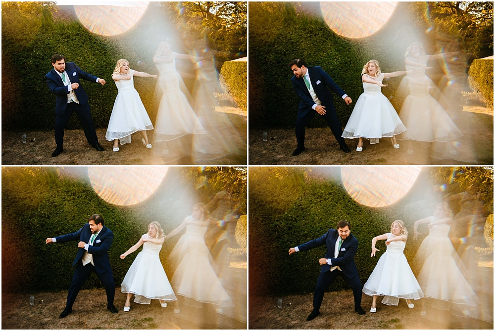 awesome bride and groom