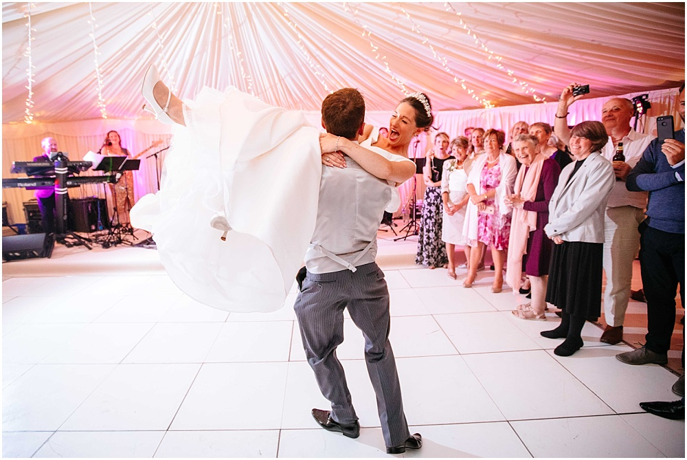 lift during the first dance