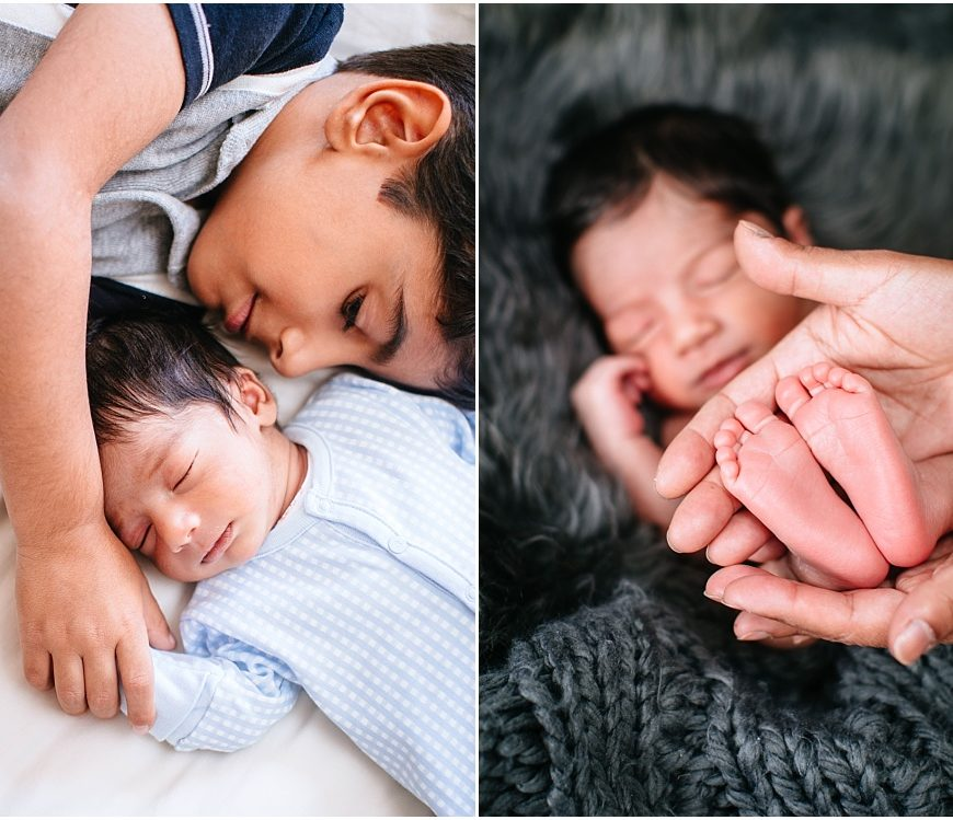 Windsor Newborn Photographer – a two week old cutie