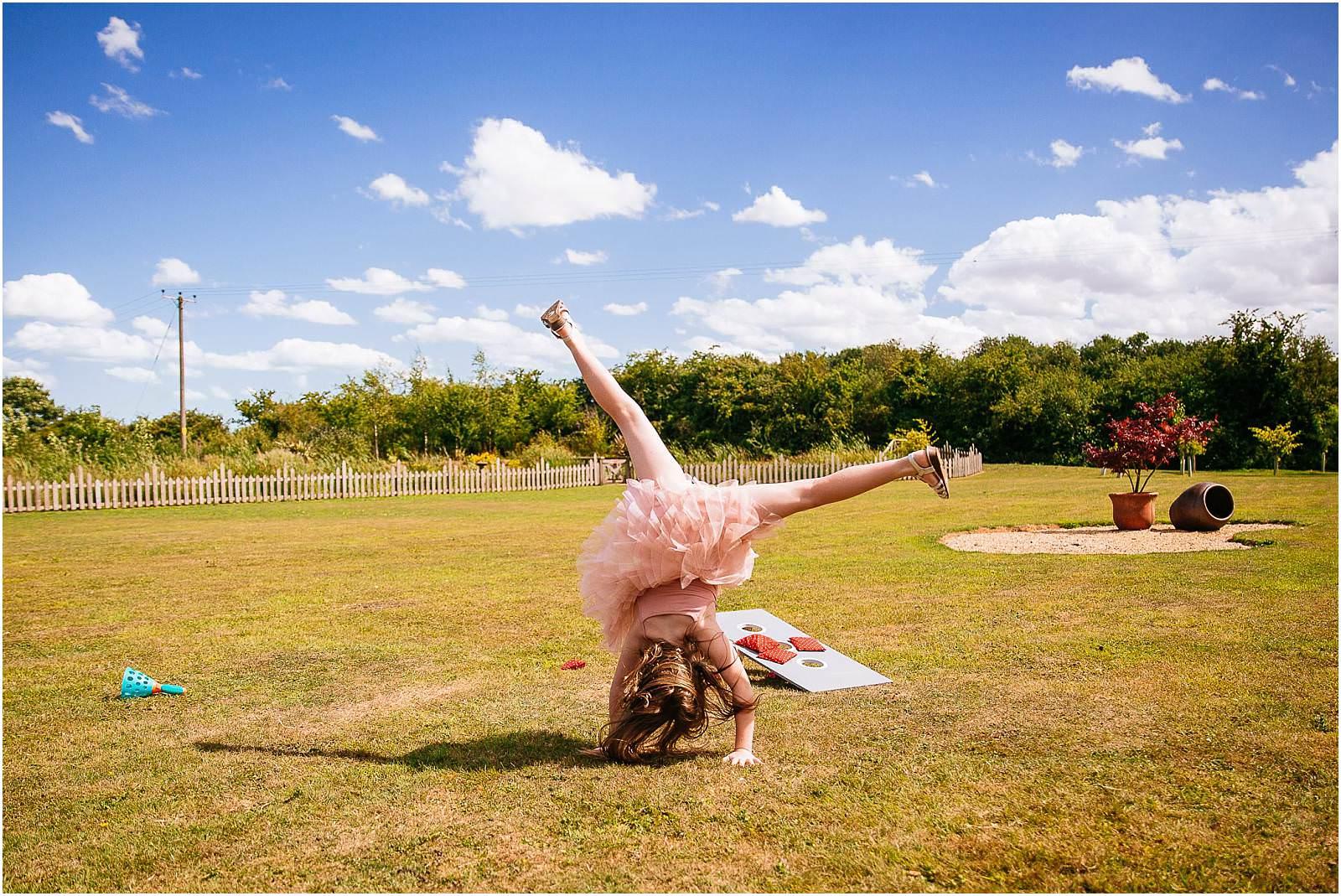 sunny cartwheel
