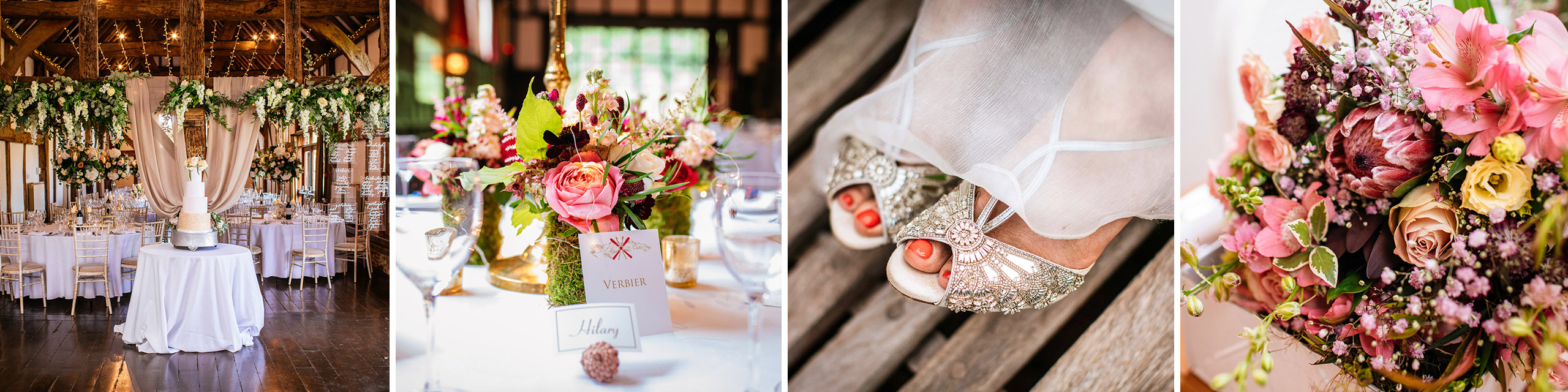 Wedding details at loseley park wedding