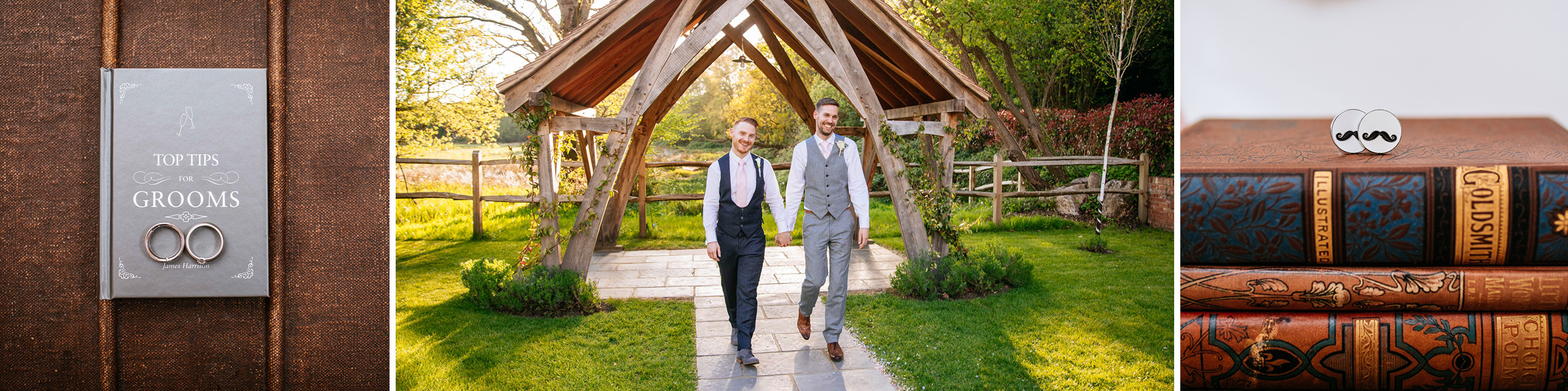 Surrey wedding photographer same sex couple