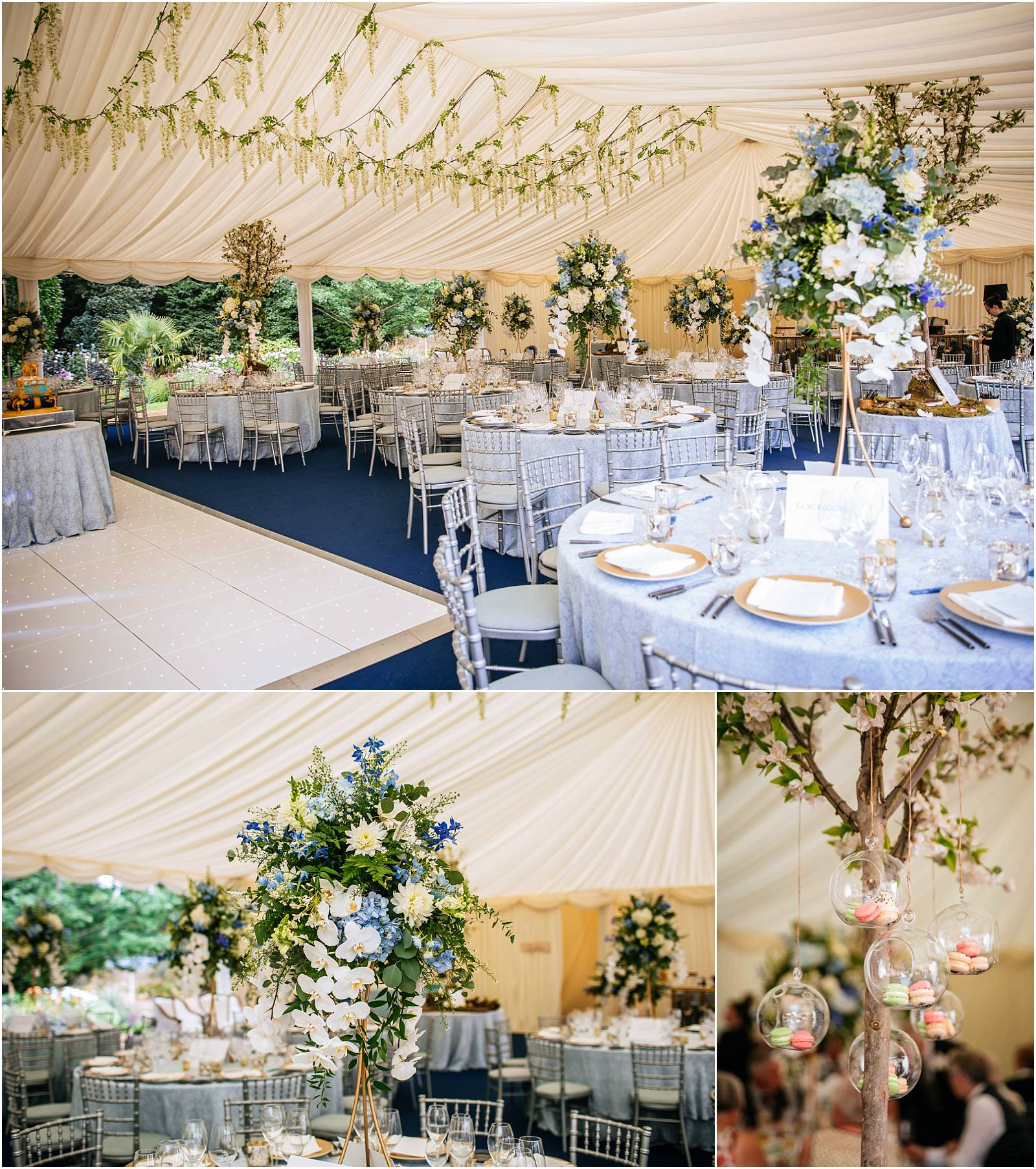 Stunning marquee wedding
