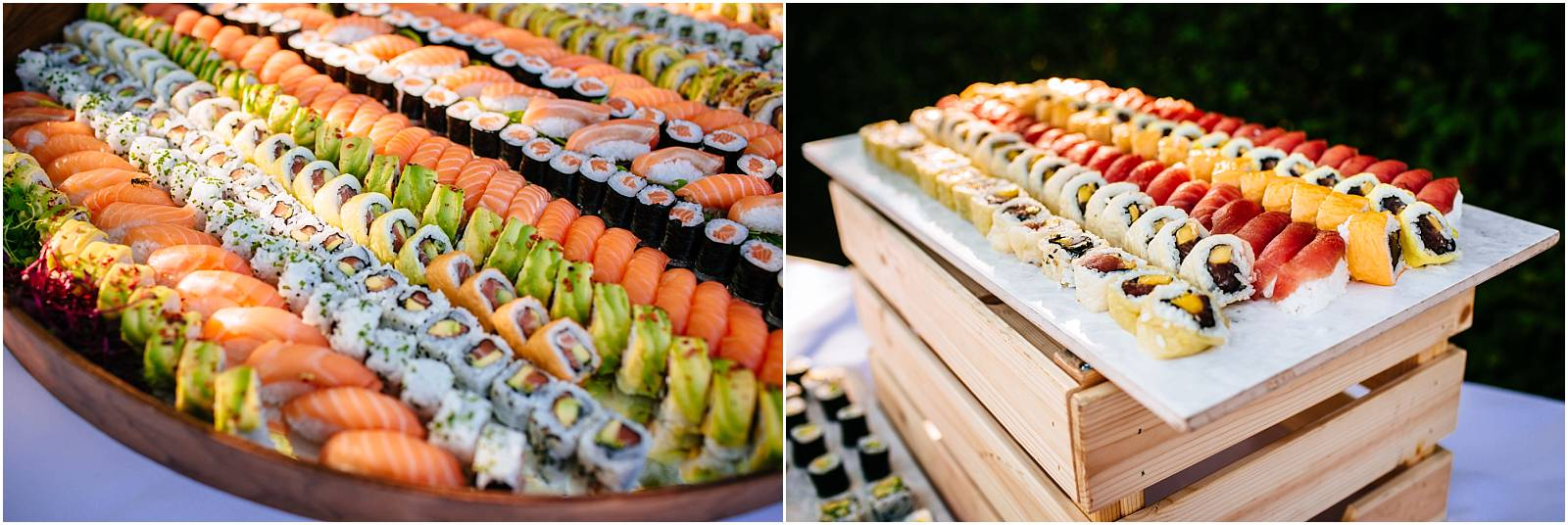 sushi bar at micklefield hall
