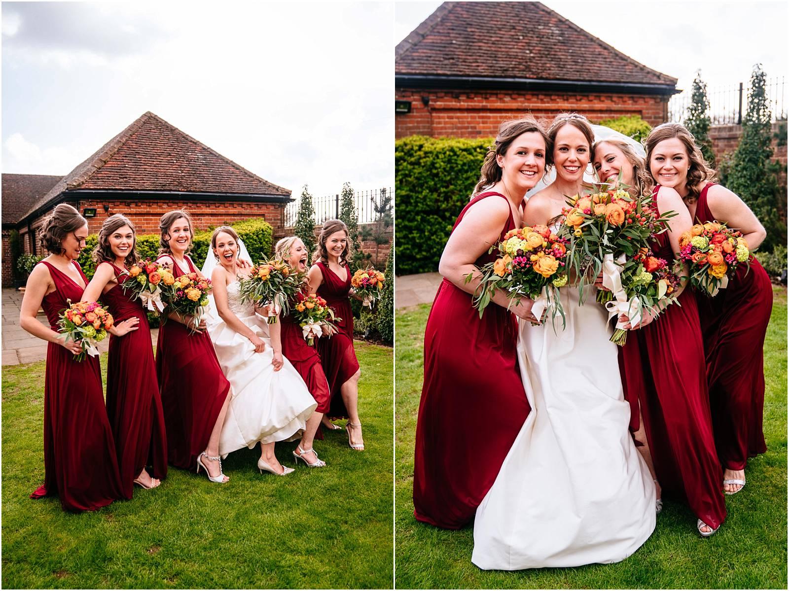 bridesmaid photographs