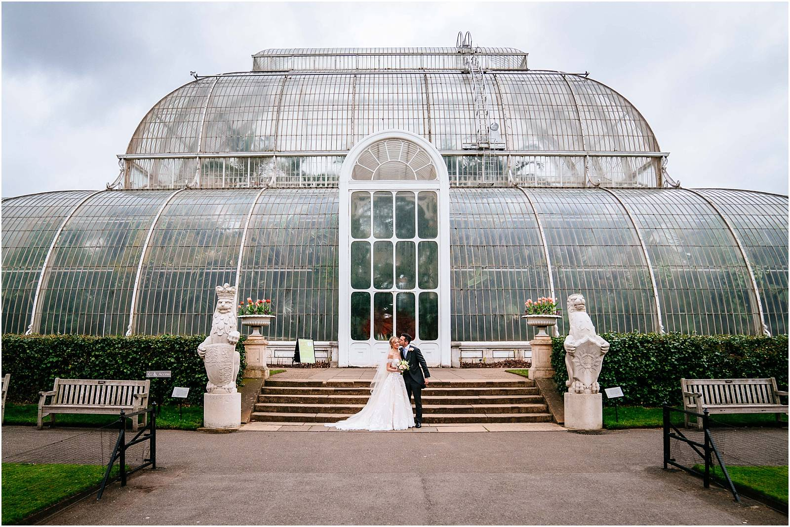 Kew Gardens wedding photography