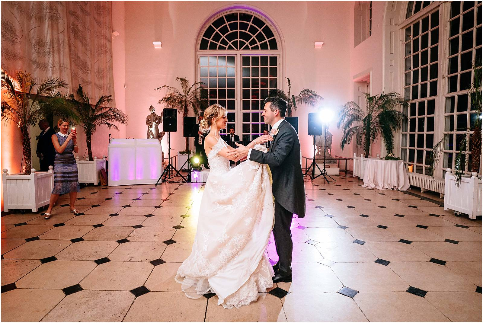 The first dance at the orangery