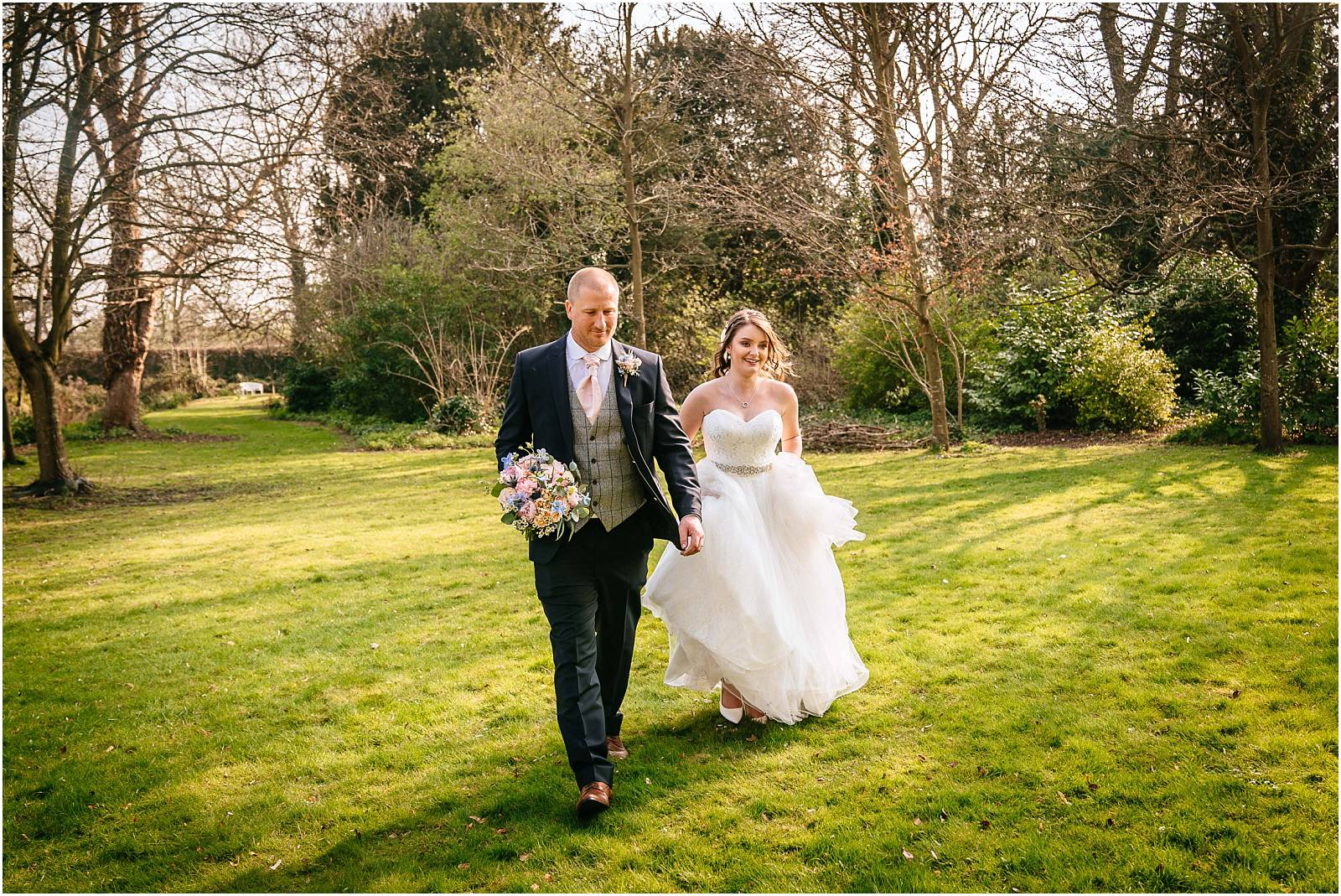 Morden Hall Wedding Photography – Claire & Dan's Spring Wedding